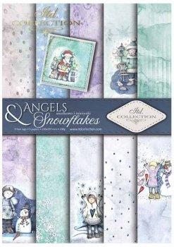 Scrapbooking papers SCRAP-023 ''Angels & Snowflakes''