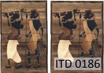 Decoupage paper ITD D0186M