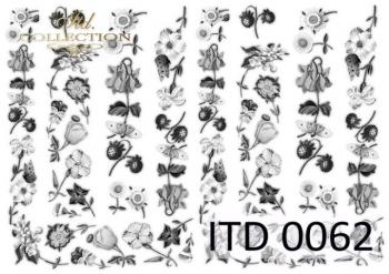 Decoupage paper ITD D0062