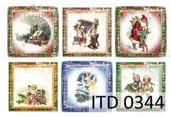 Decoupage paper ITD D0344M
