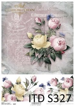 Decoupage paper Soft ITD S0327