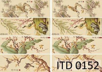 Decoupage paper ITD 0152M