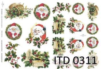 Decoupage paper ITD D0311M