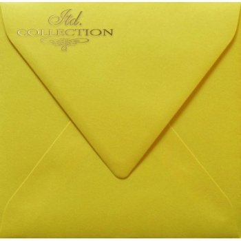 .Envelope KP02.15 'K4' 154x154 yellow