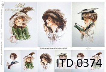 Decoupage Paper ITD D0374