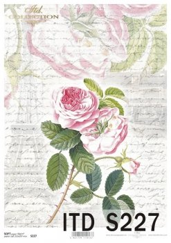 Decoupage paper Soft ITD S0227