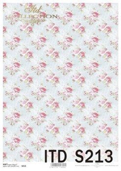 Decoupage paper Soft ITD S0213