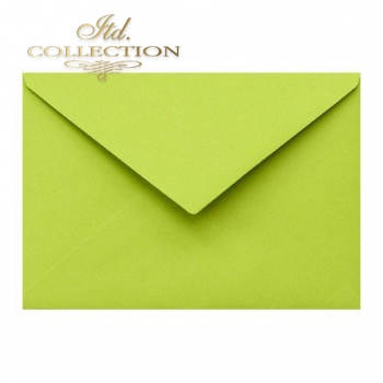 .Envelope KP04.16 'C6' 114x162 green