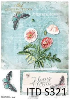 Decoupage paper Soft ITD S0321