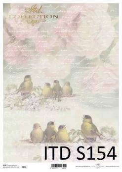 Decoupage paper Soft ITD S0154