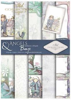 Scrapbooking papers SCRAP-031 ''Angels & Boys''