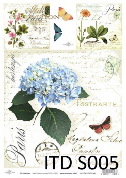 Decoupage paper Soft ITD S0005