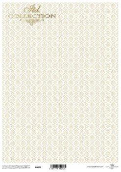 Translucent scrapbooking paper P0074