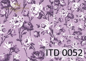 Decoupage paper ITD D0052