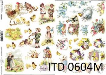 Decoupage paper ITD D0604M