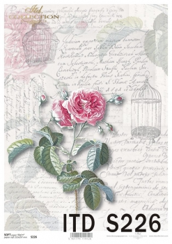 Decoupage paper Soft ITD S0226