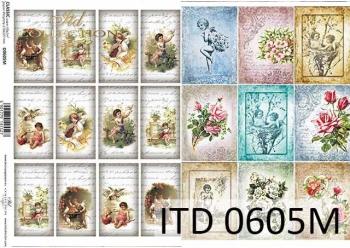 Decoupage paper ITD D0605M