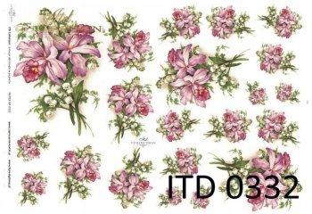 Decoupage paper ITD D0332