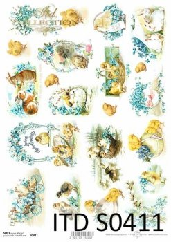 Decoupage paper Soft ITD S0411