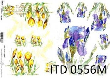 Decoupage paper ITD D0556M
