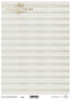 Translucent scrapbooking paper P0078