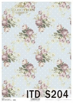 Decoupage paper Soft ITD S0204