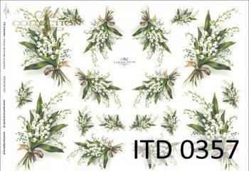 Decoupage paper ITD D0357M