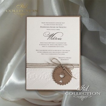 Holy Communion Invitation 2028 ecological chalice