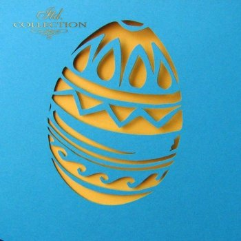Easter card KW144