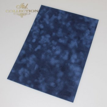 Paper for Scrapbooking ''flok'' A4 color: navy blue * PSS011