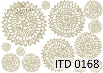 Decoupage paper ITD D0168M