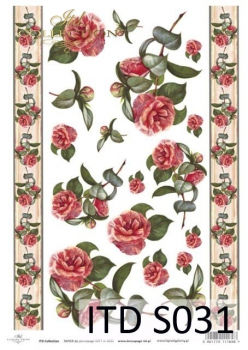 Decoupage paper Soft ITD S0031