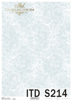 Decoupage paper Soft ITD S0214