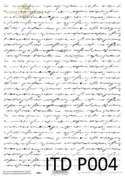 Translucent scrapbooking paper P0004