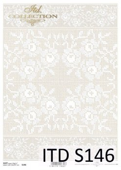 Decoupage paper Soft ITD S0146