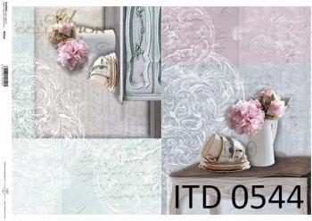 Decoupage paper ITD D0544