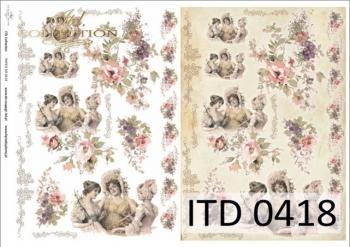 Decoupage paper ITD D0418M