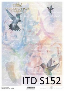 Decoupage paper Soft ITD S0152