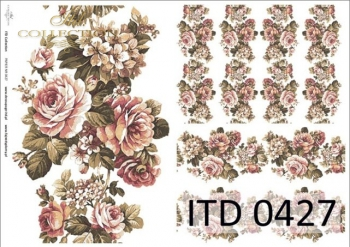 Decoupage paper ITD D0427M