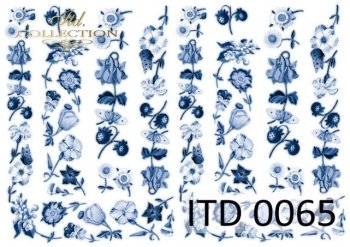 Decoupage paper ITD 0065M