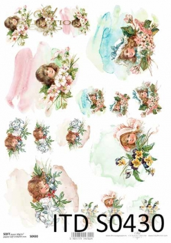 Decoupage paper Soft ITD S0430