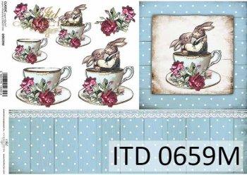 Decoupage paper ITD D0659M