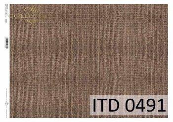 Decoupage paper ITD D0491M