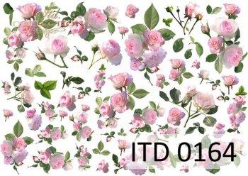Decoupage paper ITD D0164M