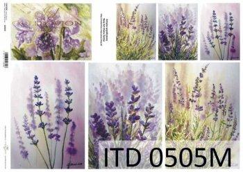 Decoupage paper ITD D0505M