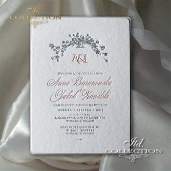 Invitations / Wedding Invitation 2003