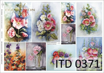 Decoupage paper ITD D0371