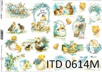 Decoupage paper ITD D0614M