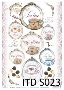 Decoupage paper Soft ITD S0023