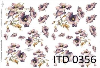 Decoupage paper ITD D0356M